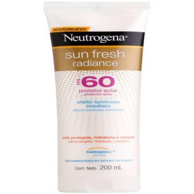 Protetor Solar Neutrogena Sun Fresh Radiance FPS 60