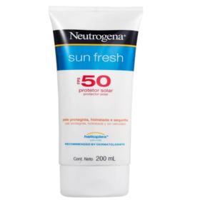 Protetor Solar Neutrogena Sun Fresh - Fps50 | 200ml