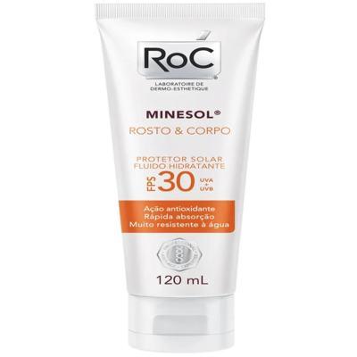Imagem 1 do produto Protetor Solar Roc Minesol Rosto e Corpo FPS 30