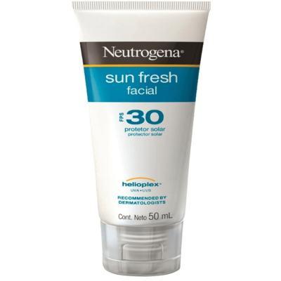 Imagem 1 do produto Protetor Solar Neutrogena Sun Fresh Facial FPS 30