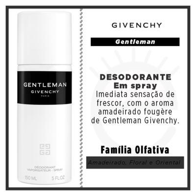 Imagem 2 do produto Gentleman Givenchy - Desodorante Spray - 150ml