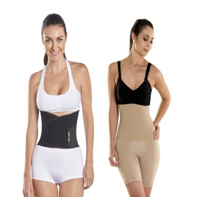 Imagem 12 do produto Shapenow Polishop + Modelador Slim Control Be Emotion - | Shapenow Preto + Slim Control Nude G+G
