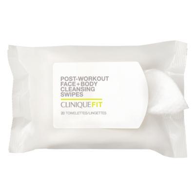 Imagem 1 do produto Lenços Umedecidos Clinique - Fit Post-Workout Face + Body - 20 Un