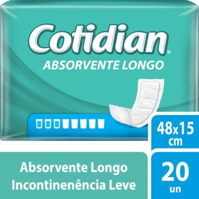 Imagem 1 do produto Kit Absorvente Geriátrico Cotidian Longo 160 unidades