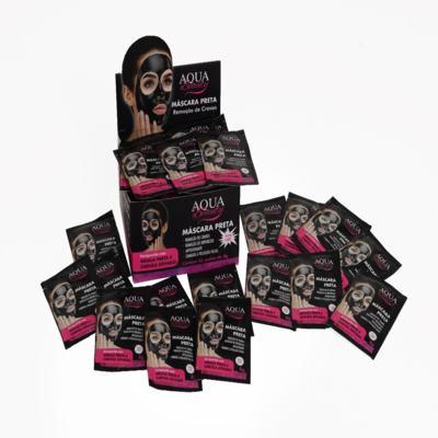 Imagem 1 do produto Máscara Facial Preta Aqua Beauty (50 sachês) -