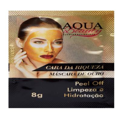 Imagem 1 do produto Máscara Facial Ouro Cara Da Riqueza (50 Sachês) -