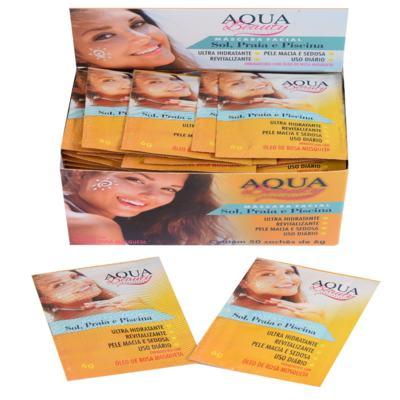Imagem 3 do produto Máscara Facial Sol, Praia E Piscina Aqua Beauty (50 Sachês) -