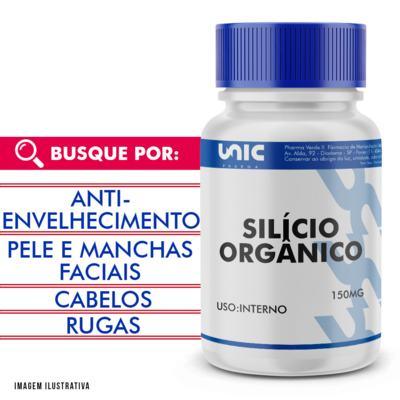 Silício orgânico 150mg - 120 Cápsulas