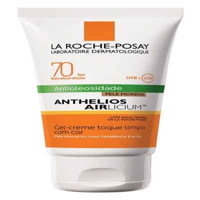 Imagem 6 do produto Protetor Solar Facial com Cor La Roche-Posay - Anthelios Airlicium Fps70 - Morena