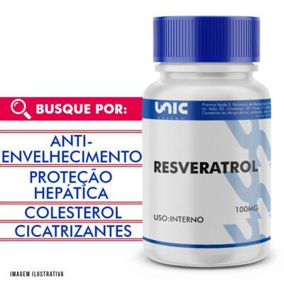 Resveratrol 100mg - 120 Cápsulas
