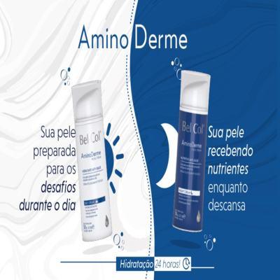 Imagem 3 do produto Hidratante Anti Idade Bel Col Aminoderme Day Cream