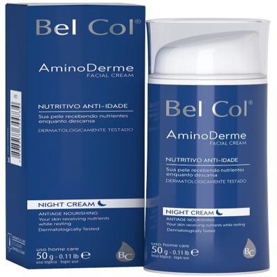Imagem 2 do produto Hidratante Anti Idade Bel Col Aminoderme Night Cream