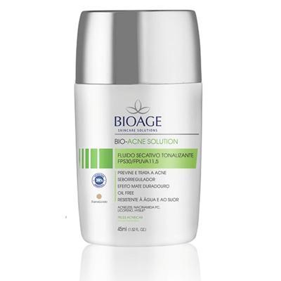 Imagem 1 do produto Fluido Secativo Tonalizante Bioage Bio Acne Solution FPS 30
