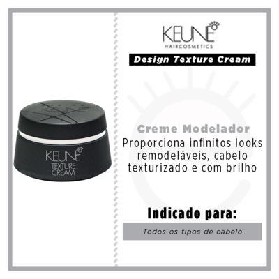 Imagem 3 do produto Keune Design Texture Cream - Creme Modelador - 100ml