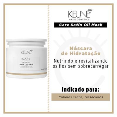 Imagem 2 do produto Keune Care Satin Oil Mask Máscara de Hidratação - 200ml