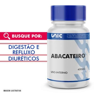 Imagem 1 do produto Abacateiro 400mg - 90 Cápsulas