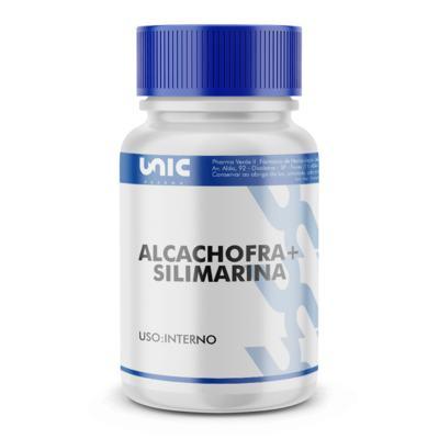 Imagem 2 do produto Protetor hepático natural - Alcachofra 300mg + Silimarina 50mg - 90 Cápsulas