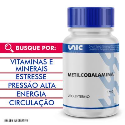 Imagem 1 do produto Metilcobalamina 1mg - 120 Cápsulas