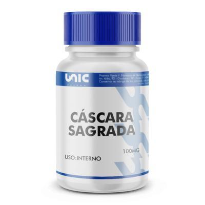 Imagem 2 do produto Cáscara sagrada 100mg - 60 Cápsulas