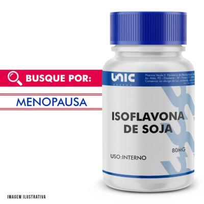 Imagem 1 do produto Isoflavona de soja 80mg - 90 Cápsulas