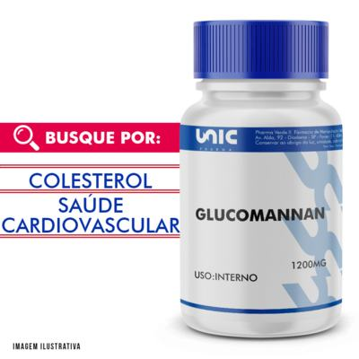 Imagem 1 do produto Glucomannan 1200mg - 90 Cápsulas