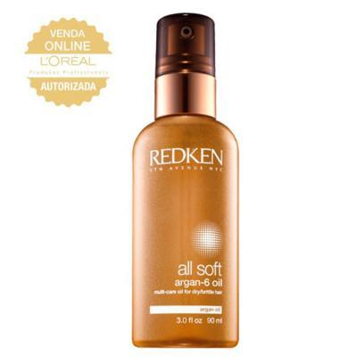 Imagem 1 do produto Redken Óleo All Soft Argan 6 - Tratamento - 90ml