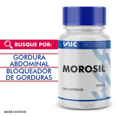 Imagem 1 do produto Morosil 500mg com selo de autenticidade - 60 Cápsulas