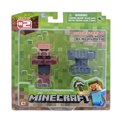 Minecraft Boneco Blacksmith - BR399 - BR399