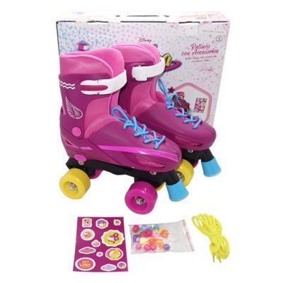 Imagem 1 do produto Patins Sou Luna Roller Skaté 4 Rodas Básico Multikids - BR714 - BR714