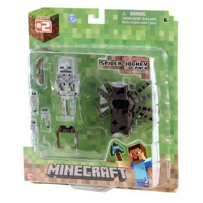 Imagem 1 do produto Boneco Spider Jockey Minecraft - BR152 - BR152