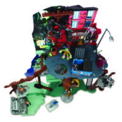 Imagem 2 do produto Tartarugas Ninja Play Set - Multikids - BR037 - BR037