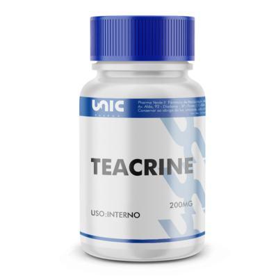 Imagem 2 do produto Teacrine 200mg com selo de autenticidade - 120 Cápsulas