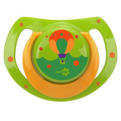 Imagem 1 do produto Chupeta Neopan Bico de Silicone Ortodôntica Tamanho 2 Balão Verde Ref 4844