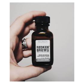 Óleo para Barba e Cabelos Redken - Brews Beard and Skin Oil - 30ml