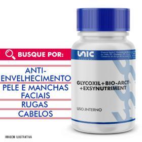 Glycoxil + exsynutriment + bio-arct com selo de autenticidade - 120 Cápsulas