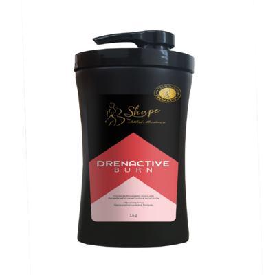 Drenactive Burn - Creme de Massagem Avançado Remodelador para Gordura Localizada - 1kg