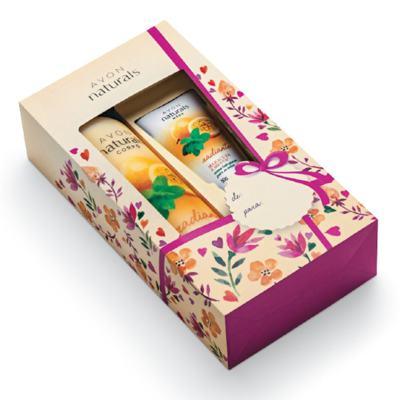 Caixa para Presente Avon Naturals
