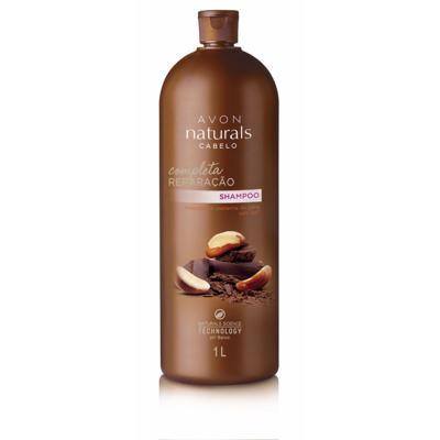 Naturals Castanha e Chocolate Shampoo - 1L