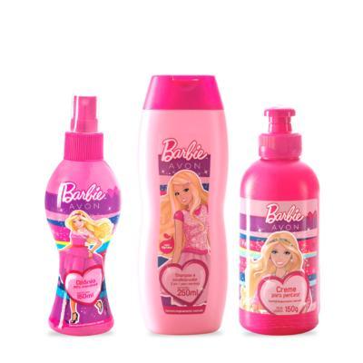 Kit Barbie Beleza