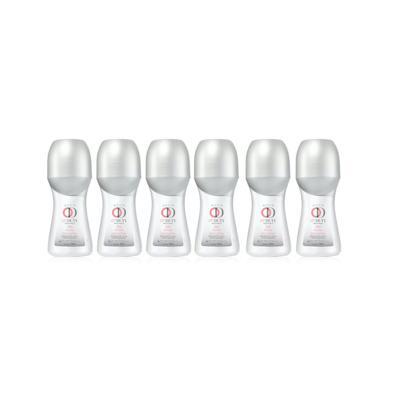 Kit Desodorante Roll-On On Duty Invisible 48h Feminino 50ml - 6 Unidades