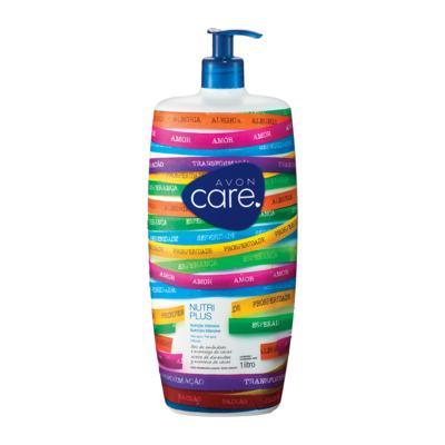 Loção Desodorante Corporal Avon Care Nutri Plus Amêndoa e Abacate Senhor do Bonfim - 1L