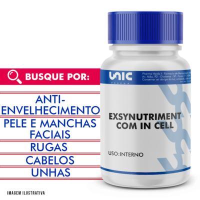 Exsynutriment com In cell com selo de autenticidade - 60 Cápsulas