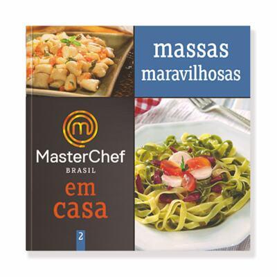 Imagem 1 do produto Coleção Master Chef em Casa - Vol 2: Massas Maravilhosas
