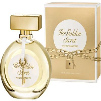 Imagem 7 do produto Her Golden Secret Antonio Banderas - Perfume Feminino - Eau de Toilette - 80ml