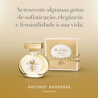 Imagem 9 do produto Her Golden Secret Antonio Banderas - Perfume Feminino - Eau de Toilette - 80ml