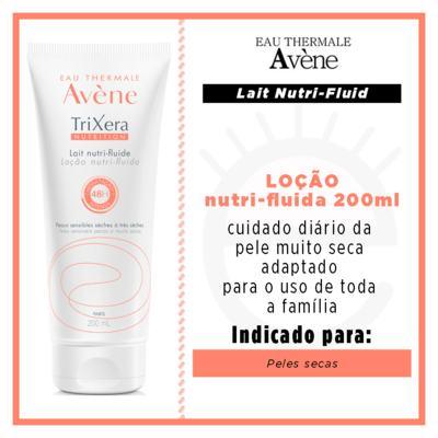 Imagem 4 do produto Hidratante Avene Trixera Loção Nutri Fluida -