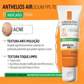 Protetor Solar Anthelios Gel Creme Airlicium - Fps70 | 50g