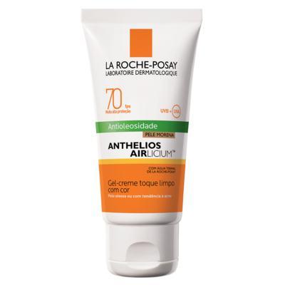 Imagem 9 do produto Protetor Solar Facial com Cor La Roche-Posay - Anthelios Airlicium Fps70 - Morena