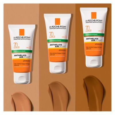 Imagem 13 do produto Protetor Solar Facial com Cor La Roche-Posay - Anthelios Airlicium Fps70 - Morena