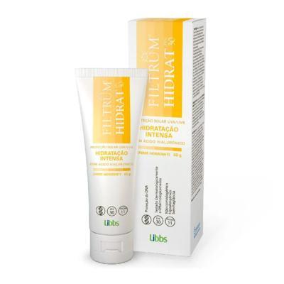 Imagem 1 do produto Creme Hidratante Protetor Solar Filtrum Ht Fps 30- 60g